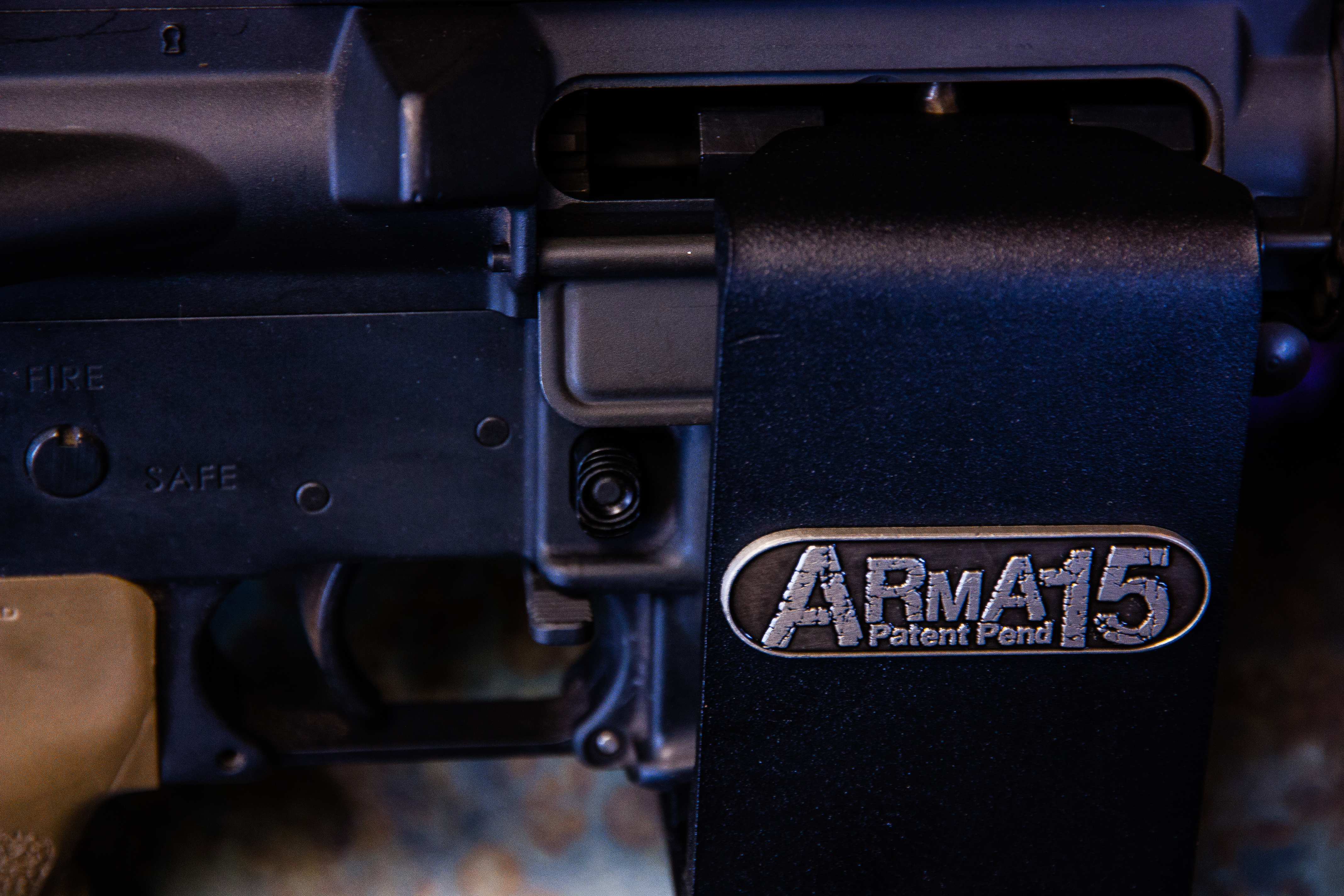 AR15 Locking Wall Mount Quick Release M4 Safe AR15 Safe
